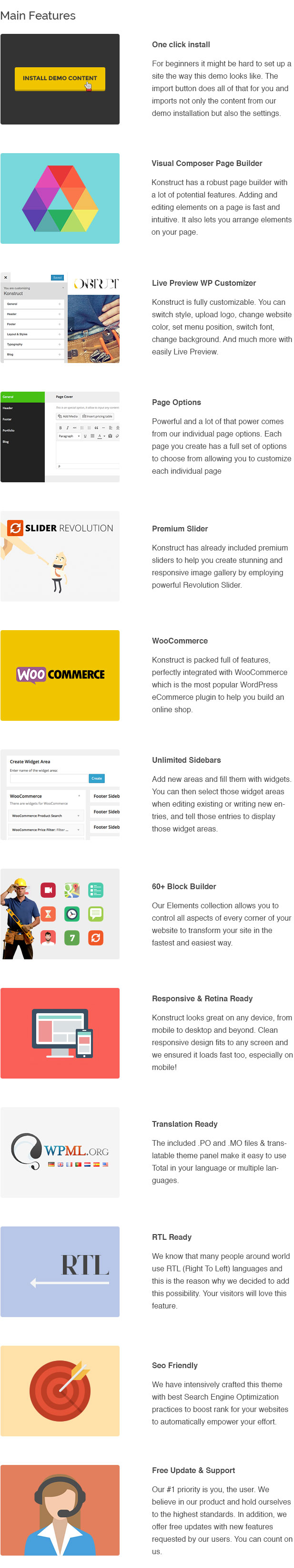 Construction, Building WordPress Theme – Konstruct - 4