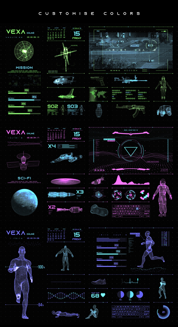 Vexa HUD Infographics - 8