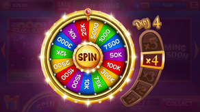 Lobby with Bonus Wheel and GUI for Slots Games - 2