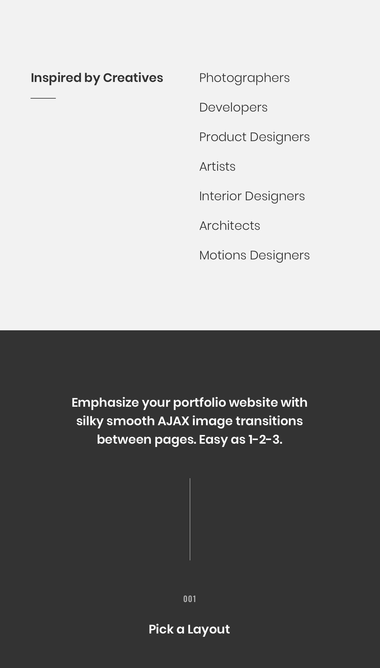 Rubenz – Creative Portfolio AJAX WordPress Theme - 6
