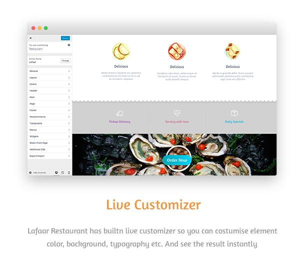 Lafaar - Restaurant & Food Menus WooCommerce Theme - 4