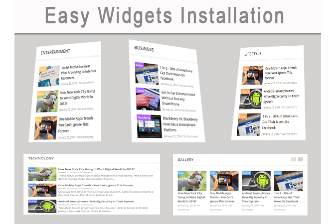 widget blogger template