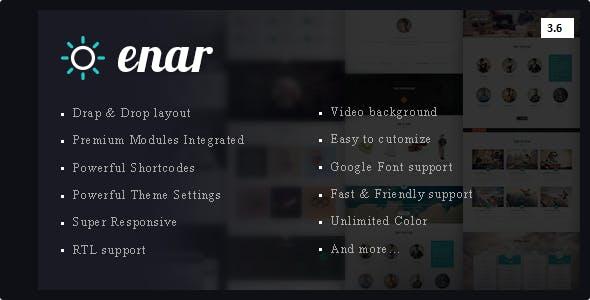 Enar - Multipurpose Drupal 8.6 Theme - Drupal CMS Themes