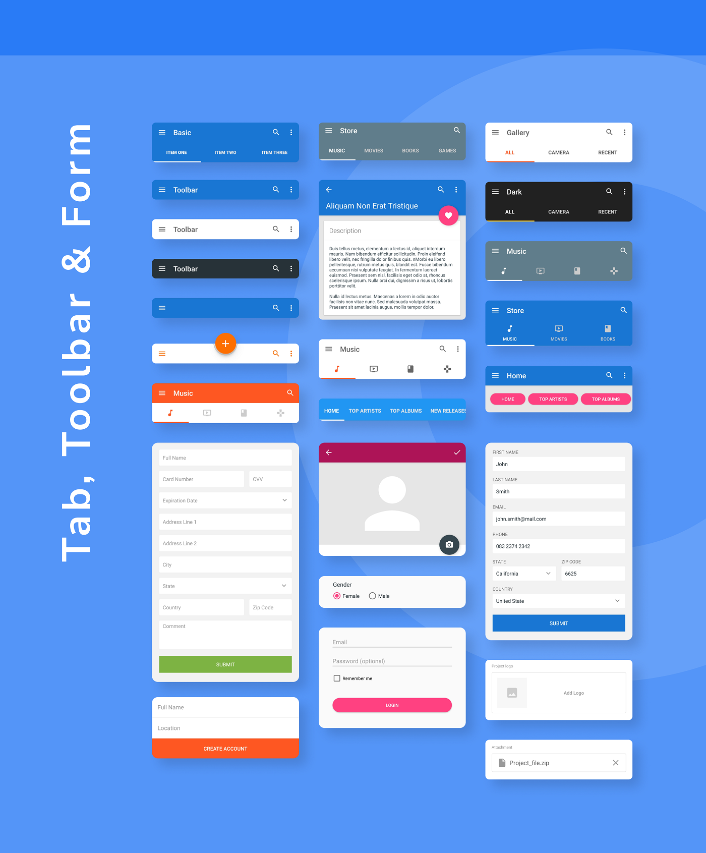 MaterialX - Android Material Design UI Components 2.7 - 21