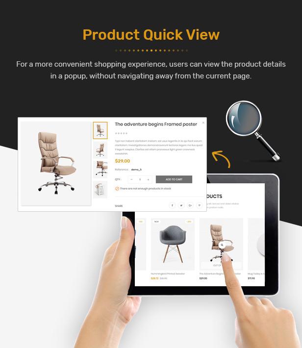 FuniHome - Responsive PrestaShop 1.7 Furniture Shop Theme - 6