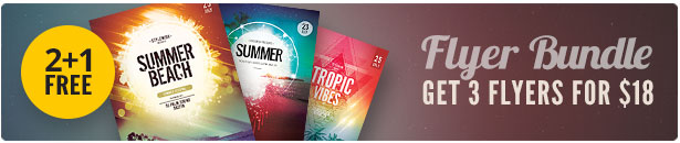 Summer Flyer Bundle Vol.17