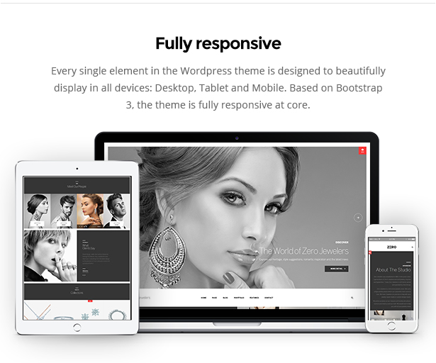 fully responsive wordpress theme