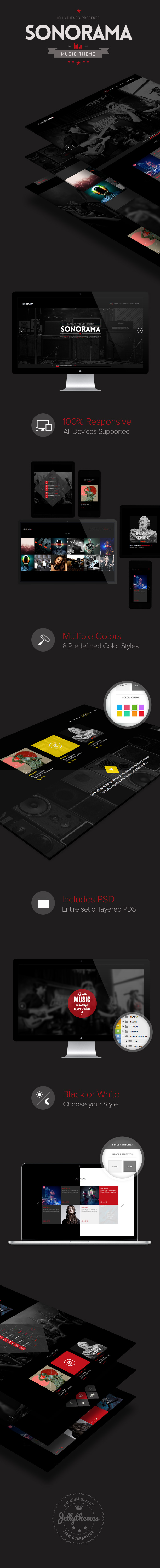 Sonorama - Onepage Music Template - 3