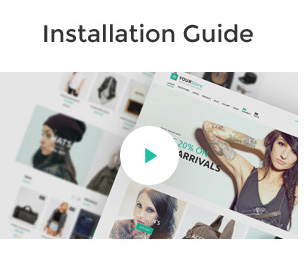 YourStore Opencart theme installation