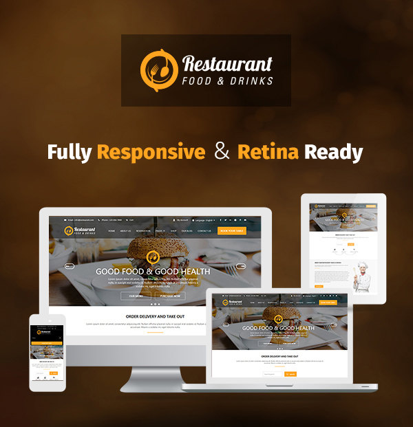 restaurant-food-and-drink-template feature banner