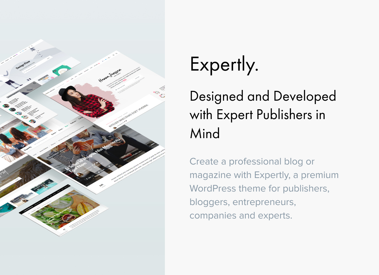 Expertly - WordPress Blog & Magazine Theme for Professionals - 2