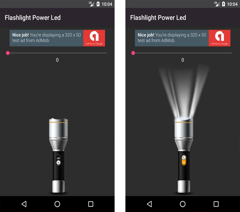 Flashlight with Stroboscope - 1