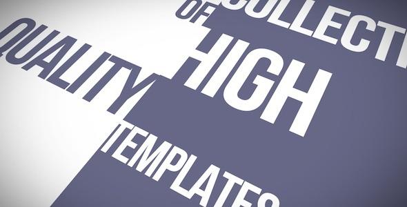 Kinetic Typo | Apple Motion Kinetic Typography