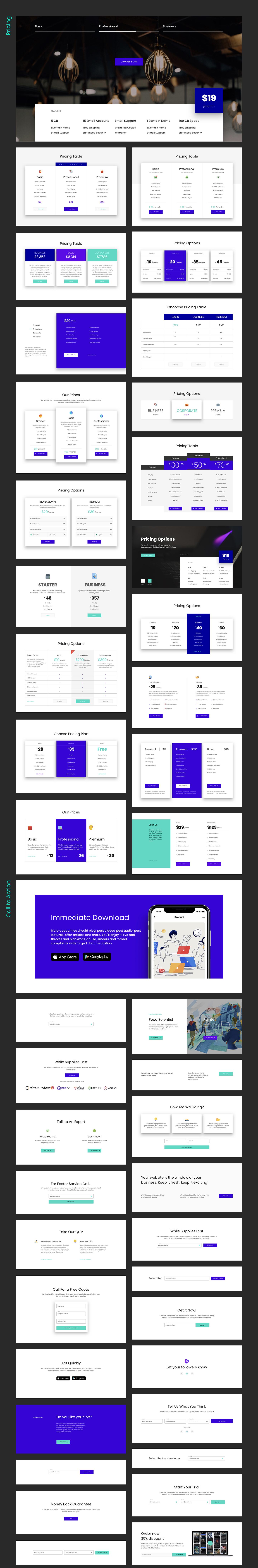 Ataman UI Kit - Templates For Website [Figma] - 7