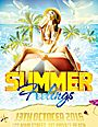 Summer Feelings Flyer Template