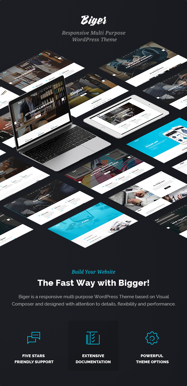 Biger - Responsive Multi-Purpose WordPress Theme - 2