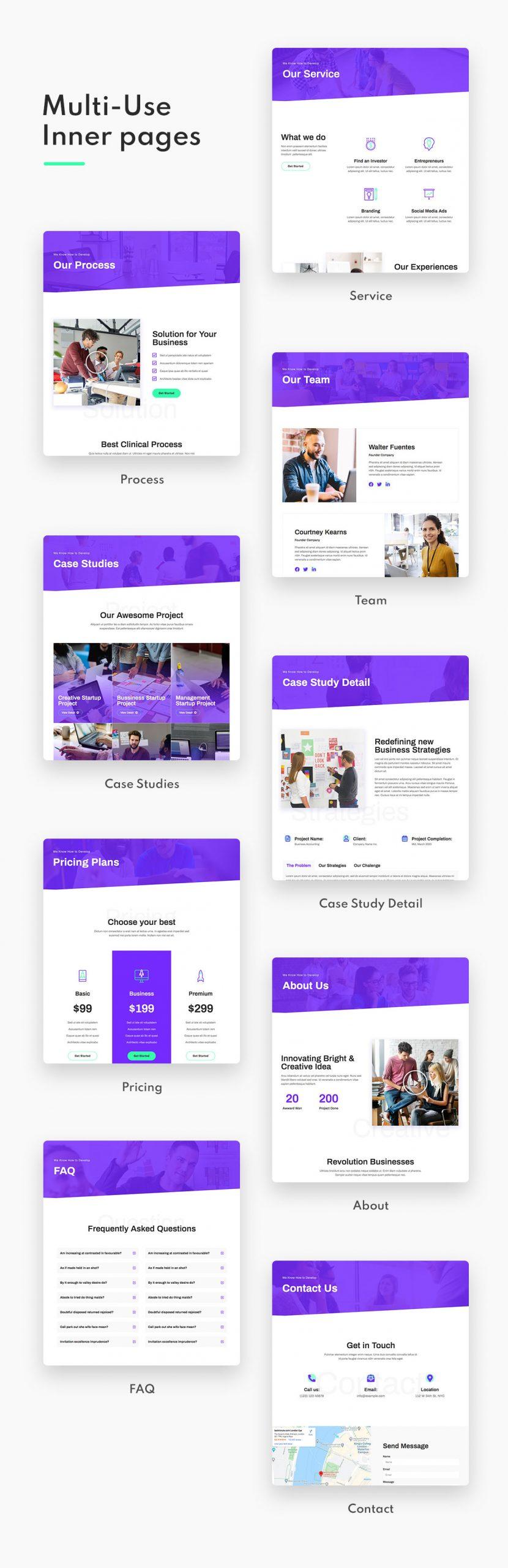 Startery | Business & Startup Elementor Template Kit - 2
