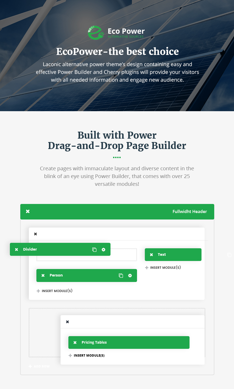 EcoPower - Alternative Power & Solar Energy Company - 1