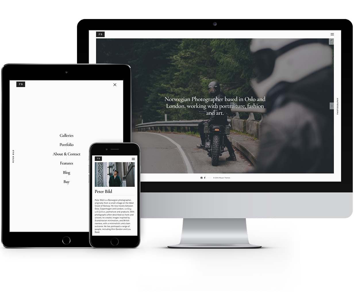 Bild — A Focused WordPress Photography Theme - 7
