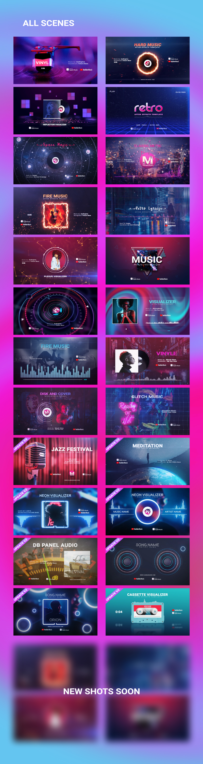 Music Visualizer Pack - 5