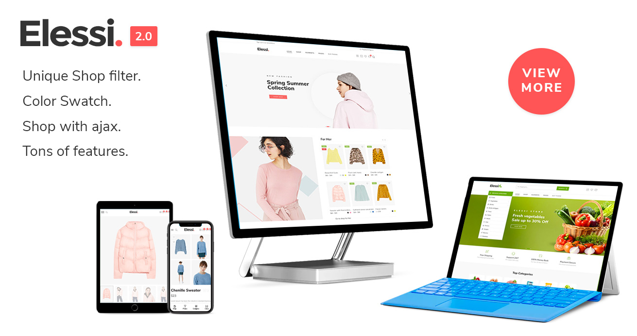 Zella - WooCommerce AJAX WordPress主题 - RTL支持 - 18