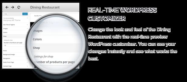 Real Time Wordpress Customizer