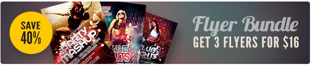Party Flyer Bundle Vol10