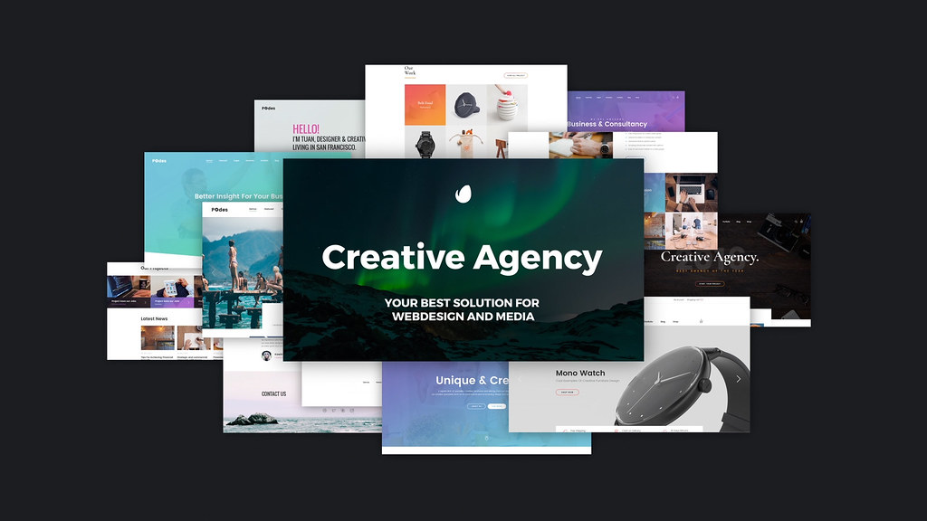 Creative Agency // Website Presentation - 2