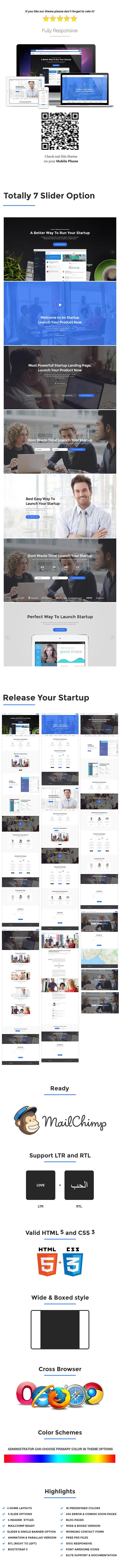ImStartup - Startup Landing Page WordPress Theme - 1