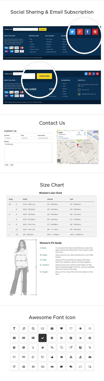 Digital store website shopify
