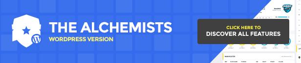 Alchemists WordPress Theme
