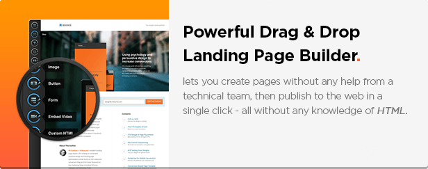 MYSERVICE - SaaS Product Unbounce Landing Page Template