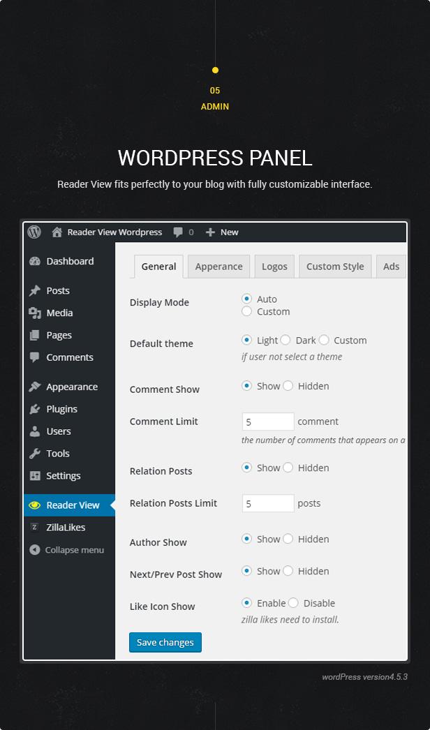 Reader View — WordPress Plugin - 5