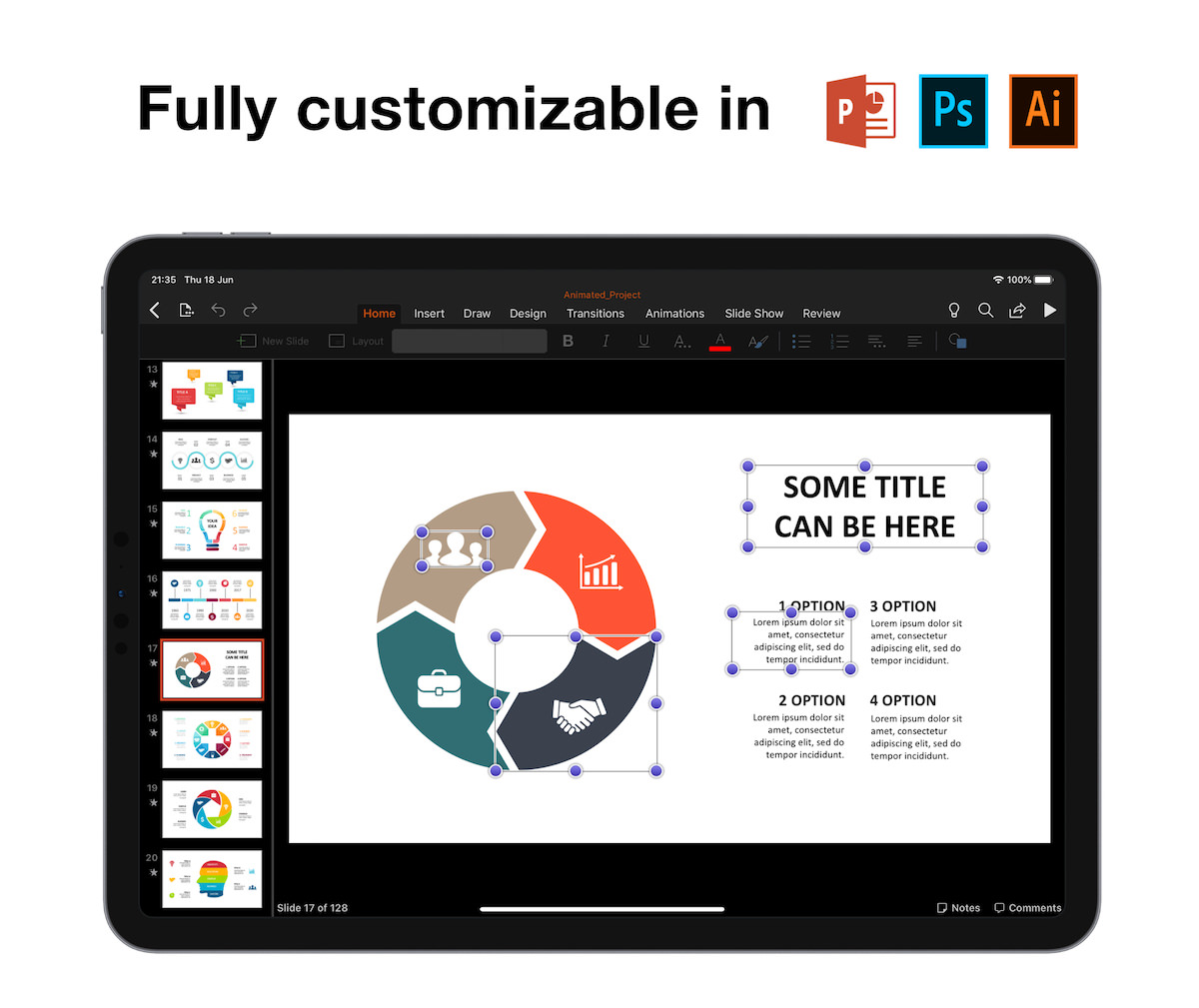Huge Infographics Bundle! Lifetime Updates! PowerPoint, Photoshop, Illustrator. - 19
