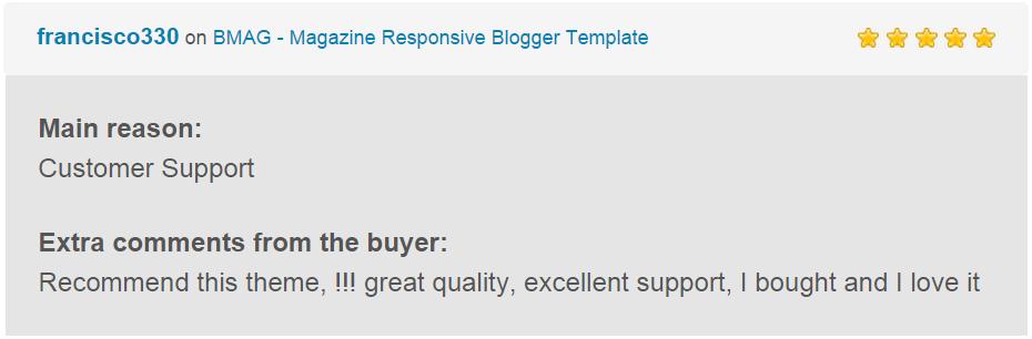 BMAG - Magazine Responsive Blogger Template - 28