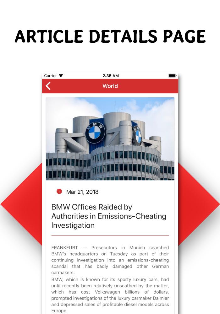 Full functional news app with admin panel Firebase Firestore & Ionic Framework - 7