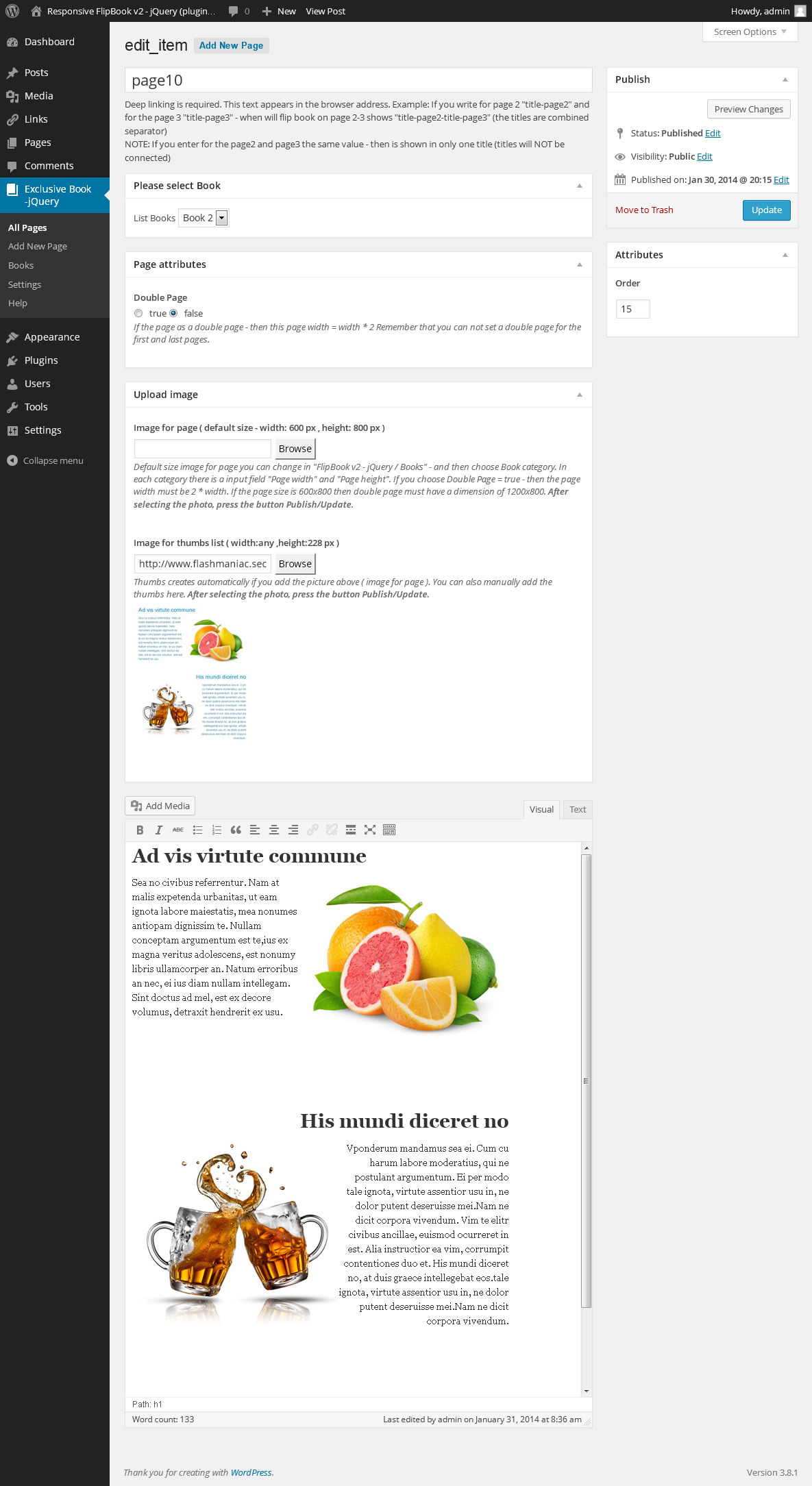 Exclusive FlipBook WordPress Plugin - 7