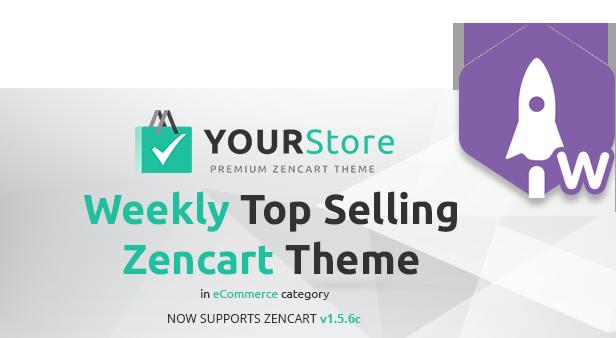 YourStore Premium Zen Cart Theme - 4