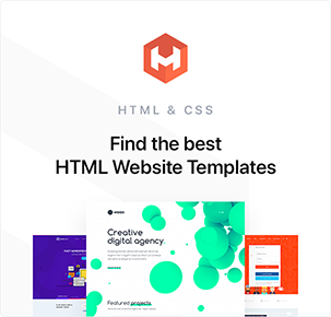 Find The Best HTML templates