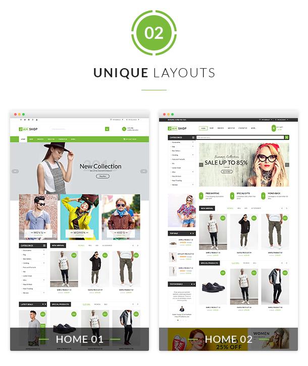 VG JanShop - Responsive WooCommerce WordPress Theme - 6