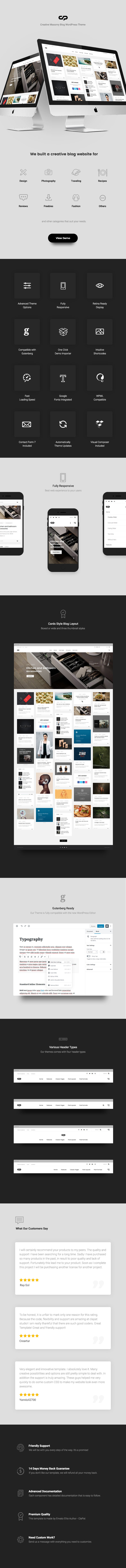 https://themeforest.net/item/clapat-creative-masonry-blog-wordpress-theme/22988029?ref=dexignzone