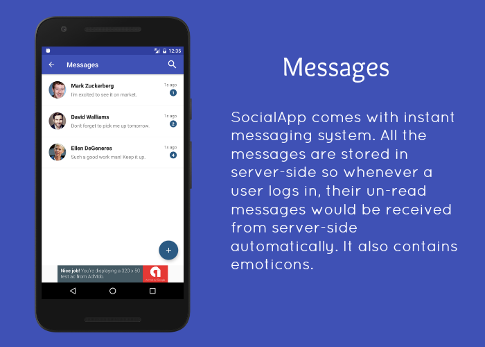 SocialApp - Full Android Application - 6