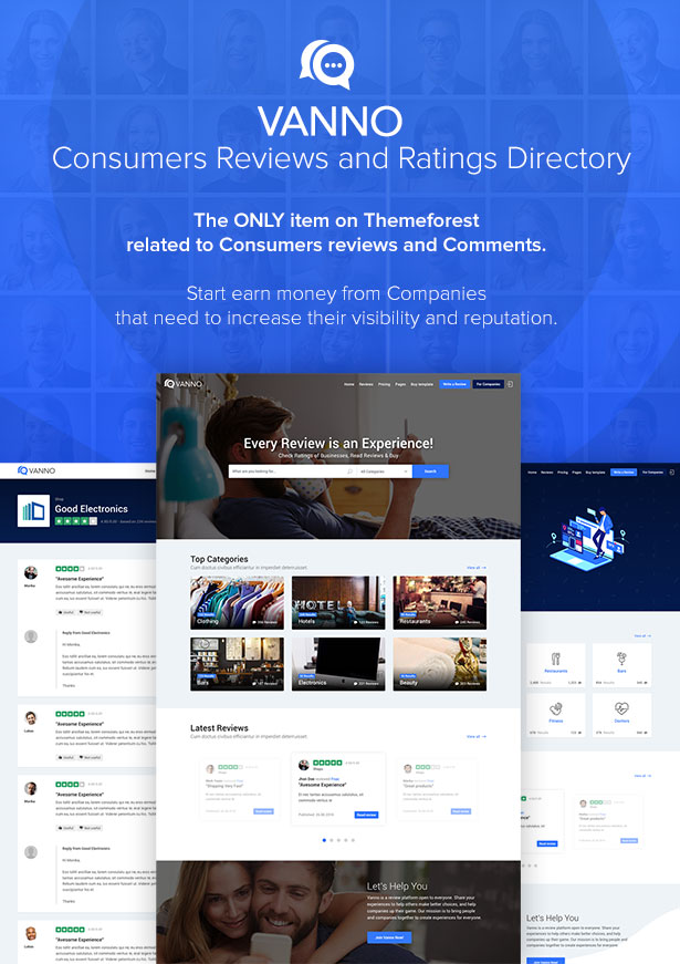 Vanno - Consumers Reviews and Rating Directory