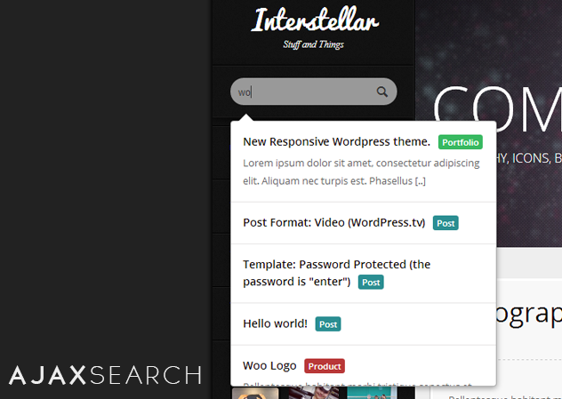Interstellar - A Resposive Multi-Purpose Theme - 8