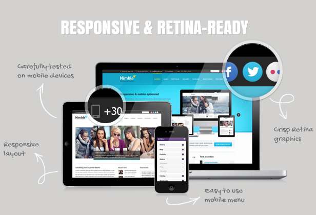 Nimble — Multipurpose Retina Ready WordPress Theme by Dream-Theme ...