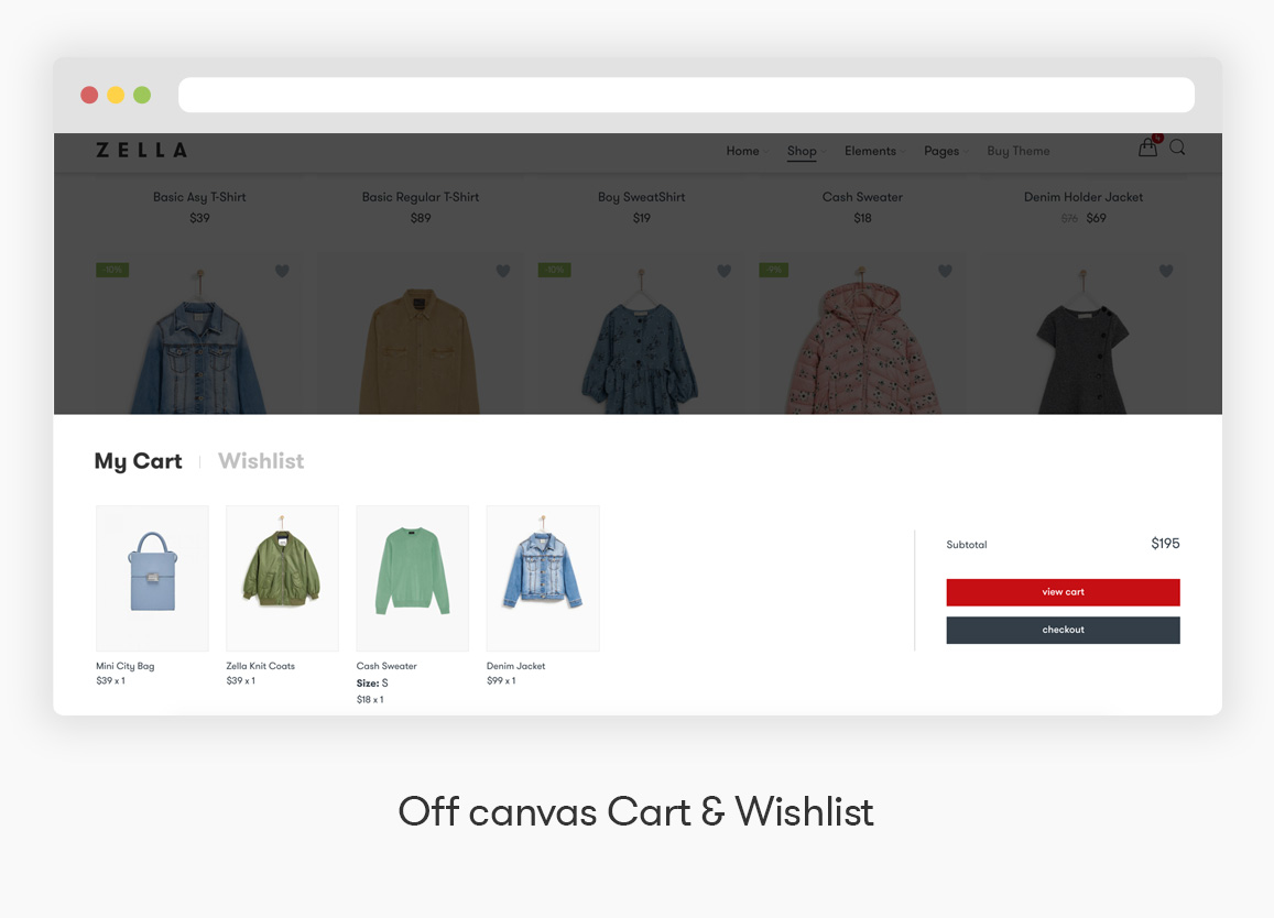 Zella - WooCommerce AJAX WordPress主题 - RTL支持 - 15