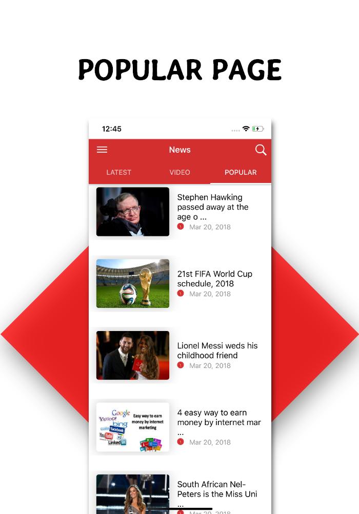 Full functional news app with admin panel Firebase Firestore & Ionic Framework - 9