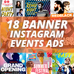 Instagram Banner Events - 2