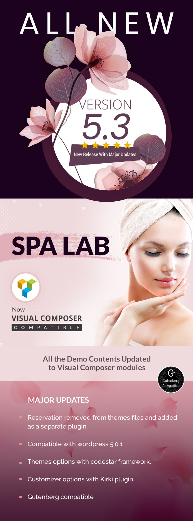 Spa Lab | Beauty Salon, Spa WordPress Theme - 1