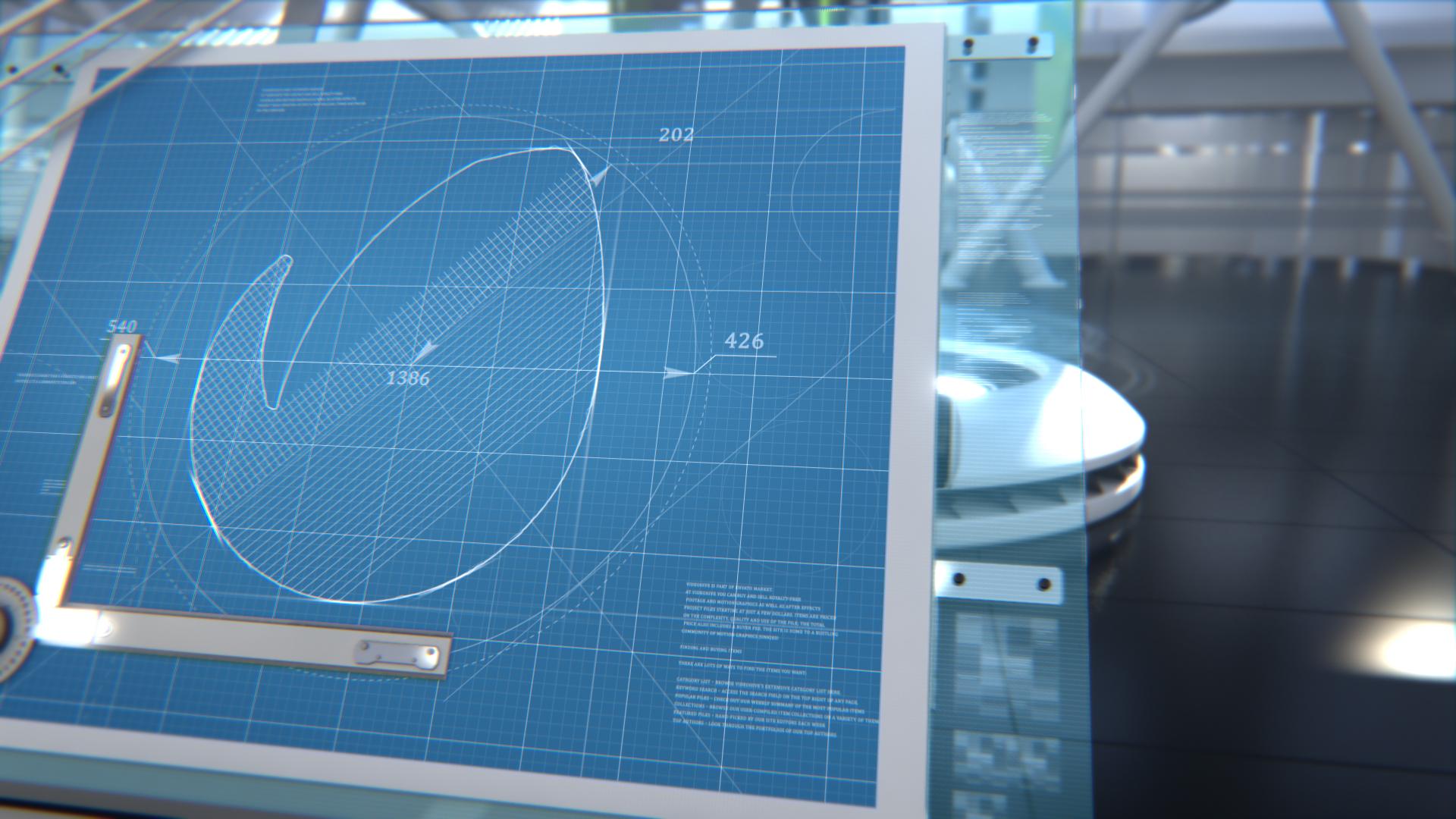 Blueprint 3d logo by prizrakkd videohive update 20 malvernweather Gallery